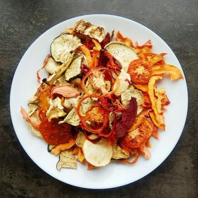 Демо-набір овочевих чіпсів